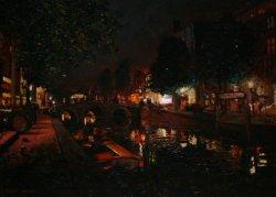 Red lights in Amsterdam